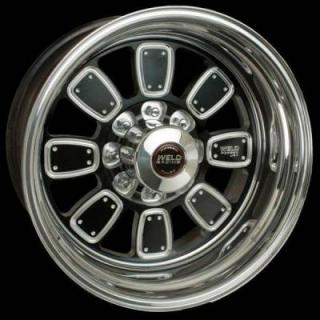 WELD RACING WHEELS  DUALLY D51 BLACK ANODIZED RIM