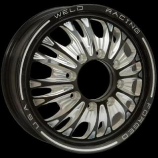 WELD RACING WHEELS  DUALLY D54 BLACK ANODIZED RIM
