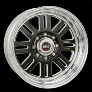WELD RACING WHEELS  DUALLY D56 BLACK ANODIZED RIM