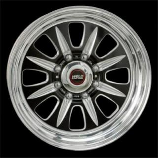 WELD RACING WHEELS  TRUCK T59 BLACK ANODIZED RIM