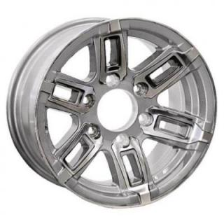 SENDEL WHEELS  T06 TRAILER SILVER MACHINED RIM