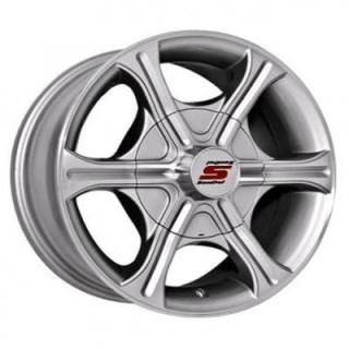 SENDEL WHEELS  T05 TRAILER SILVER MACHINED RIM