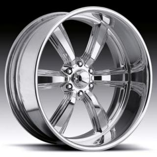 RACELINE WHEELS   BLAST 6 POLISHED RIM