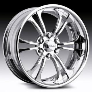 RACELINE WHEELS  JADED 6 POLISHED RIM