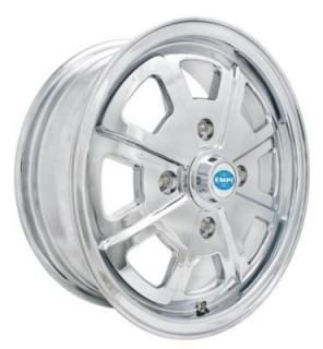 EMPI VINTAGE VW WHEELS 914 ALLOY CHROME WHEEL