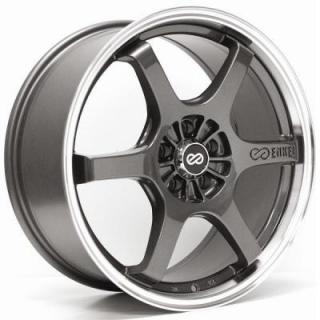 ENKEI WHEELS  SR6 GUNMETAL WHEEL