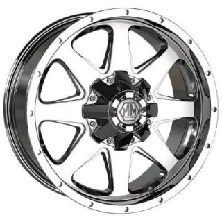 MAYHEM WHEELS  TANK CHROME RIM