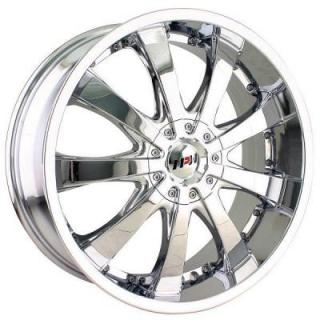 MPW WHEELS  MP110 CHROME RIM