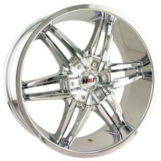 MPW WHEELS  MP208 CHROME RIM