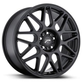 PLATINUM WHEELS  ARCTIC 404 SATIN BLACK RIM