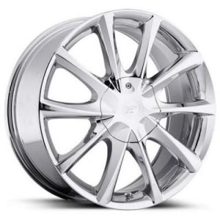 PLATINUM WHEELS  E-TWINE 081 CHROME RIM