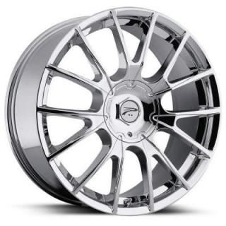 PLATINUM WHEELS  MARATHON 401 CHROME RIM