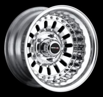 CENTERLINE WHEELS  STREET & DRAG SERIES FUEL POLISH WHEEL