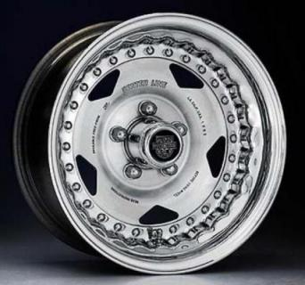 CENTERLINE WHEELS  STREET & DRAG SERIES CONVO PRO MACHINE WHEEL with POLISHED OUTER