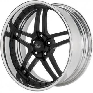 BILLET SPECIALTIES WHEELS  PRO-TOURING DRAFT GLOSS BLACK RIM