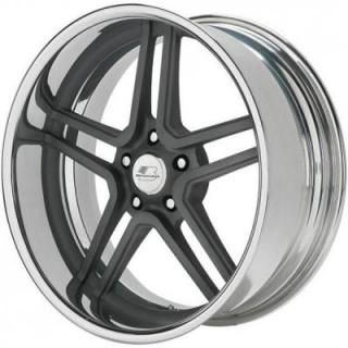 BILLET SPECIALTIES WHEELS  SLC SERIES GTO GUNMETAL RIM