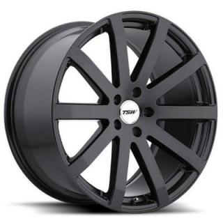 BROOKLANDS MATTE BLACK RIM from TSW WHEELS