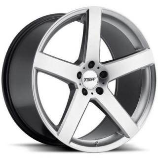 TSW WHEELS - OCT. SALE!  RIVAGE HYPER SILVER RIM