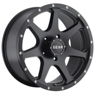 GEAR ALLOY WHEELS  727MB SMOKE SATIN BLACK RIM
