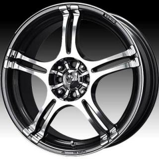 KONIG WHEELS  INCIDENT GRAPHITE RIM