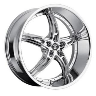 2 CRAVE WHEELS  2 CRAVE N25 CHROME RIM