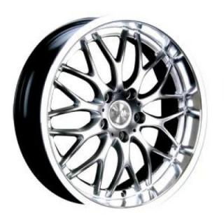 RPM WHEELS  R-505 HYPER SILVER RIM with MACHINED LIP