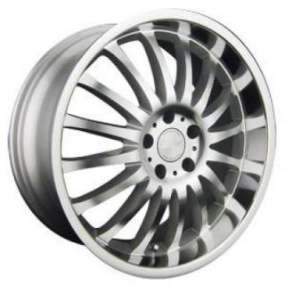 RPM WHEELS  R-507 SILVER MACHINED RIM