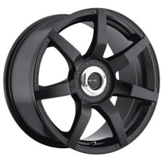 DRIFZ WHEELS  305B MONZA SATIN BLACK RIM