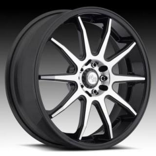 NICHE WHEELS  NR10 M123 MATTE BLACK/MACHINED