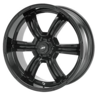 SPECIAL BUY WHEELS  AMERICAN RACING AR320 TRENCH BLACK RIM PPT