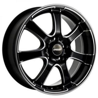 SPEEDY WHEELS  VOLT BLACK RIM