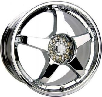 SPEEDY WHEELS  LITE 5 CHROME RIM