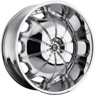 2 CRAVE WHEELS  HEAVY HITTERS H1 CHROME RIM