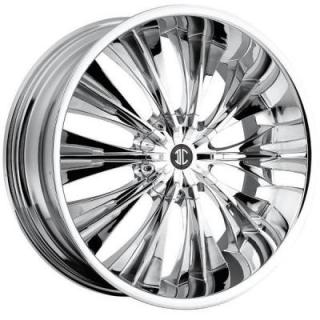 2 CRAVE WHEELS  HEAVY HITTERS H3 CHROME RIM