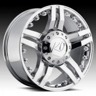 REV WHEELS  OFFROAD 845 GUILLOTINE CHROME RIM