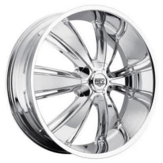 REV WHEELS  RWD 955 CHROME RIM