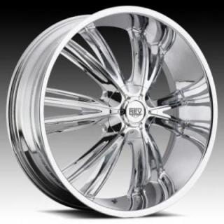 REV WHEELS  RWD 956 CHROME RIM