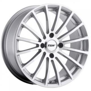 MALLORY 4 SILVER RIM with MIRROR CUT FACE from TSW WHEELS