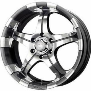 SPECIAL BUY WHEELS  LIQUID METAL - BRUZER CHARCOAL RIM with MACHINED FACE