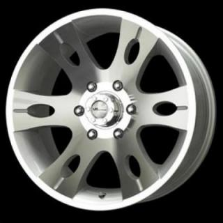 SPECIAL BUY WHEELS  LIQUID METAL - BLITZ SILVER RIM