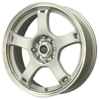 SPECIAL BUY WHEELS  LIQUID METAL - DRIFTER SILVER RIM with DIAMOND CUT LIP