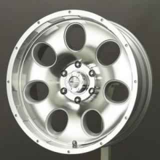 SPECIAL BUY WHEELS  LIQUID METAL - RAZOR SILVER MACHINED RIM