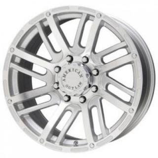 SPECIAL BUY WHEELS  LIQUID METAL - SPUR SILVER RIM with MACHINED FACE