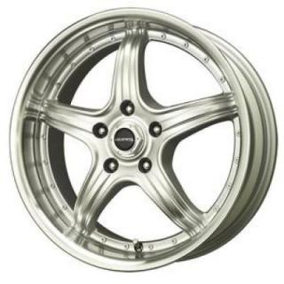 SPECIAL BUY WHEELS  LIQUID METAL - WINGMAN SILVER RIM with MACHINED LIP
