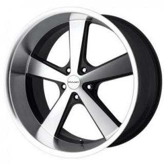 SPECIAL BUY WHEELS  KMC - KM701  GLOSS BLACK MACHINED PPT