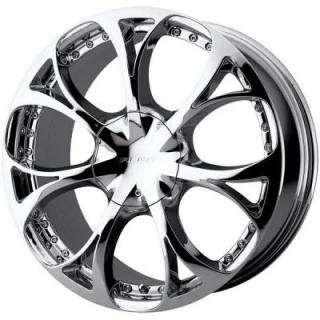 SPECIAL BUY WHEELS  ALBA AL717 CHROME RIM