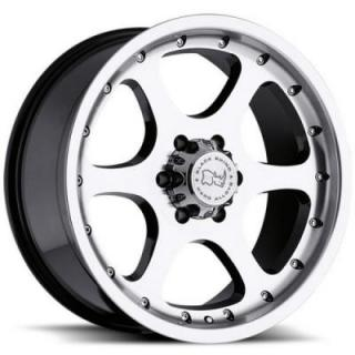 SPECIAL BUY WHEELS  BLACK RHINO OCOTILLO GLOSS BLACK/MACHINE PPT