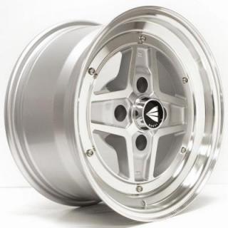SPECIAL BUY WHEELS  ENKEI CLASSIC SERIES - APACHE II SILVER WHEEL