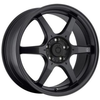 BACKBONE MATTE BLACK RIM from KONIG WHEELS