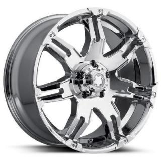 SPECIAL BUY WHEELS  ULTRA GAUNTLET 237/238 CHROME RIM